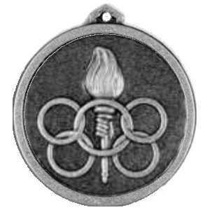 170-56 Cenrian 56mm Torch and Rings Medal